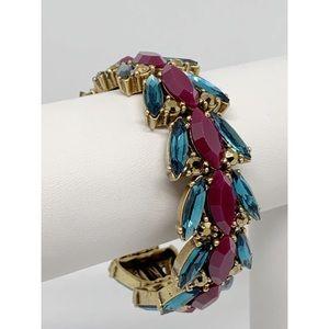 J. Crew Jeweled Stretch Bracelet